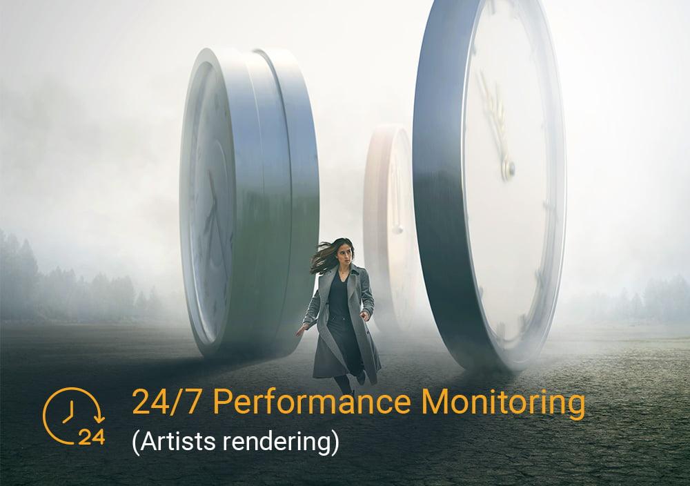24/7 Performance Monitoring