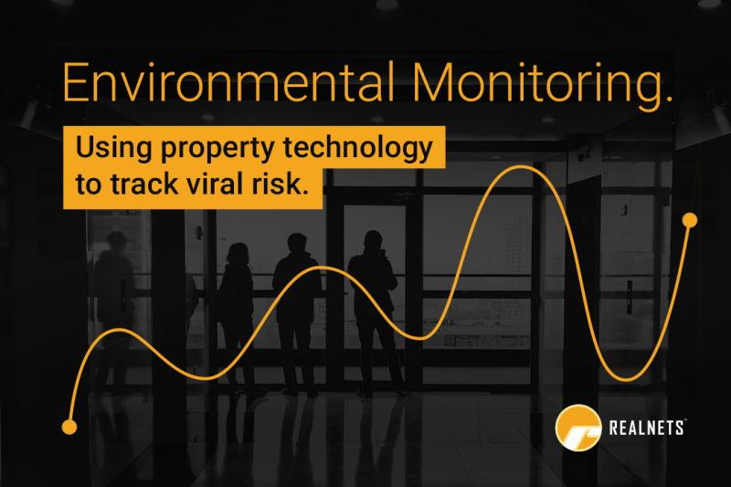 Environmental-Monitoring Using property technology to track viral risk