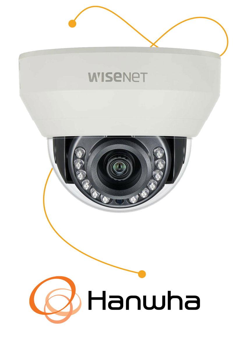 Wisenet - Hanwha camera