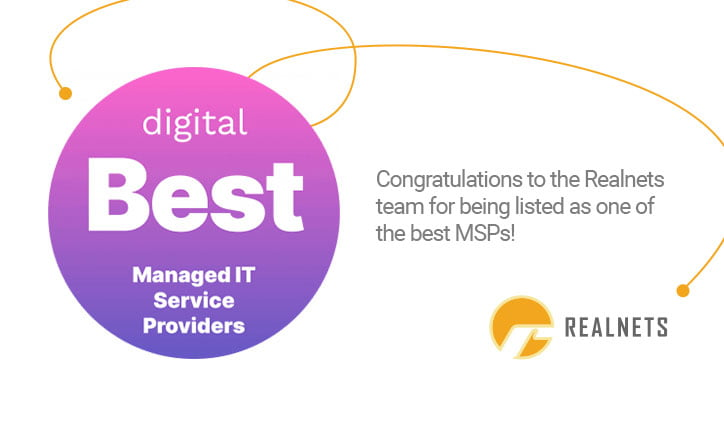 Realnets named one of the Best MSPs of 2021